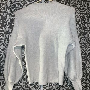 a new day light gray sweater!!